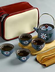 abordables -Tetera de porcelana 1pz a prueba de calor, 10.5 * 13.1; 6.2 * 3.7cm