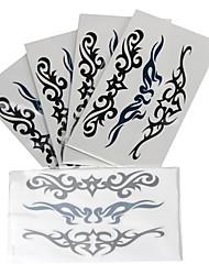 abordables -10 pcs Tatouages Autocollants Tatouages temporaires Séries de totem Arts du Corps bras