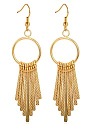 cheap -Tassel Drop Earrings - Fashion Gold / Silver For Evening Party / Date