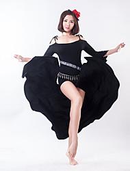 cheap -Belly Dance Dresses Women's Training Modal Split 3/4 Length Sleeves Dress