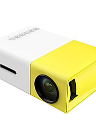 cheap -YG300 LCD Mini Projector LED Projector 400 lm Support 1080P (1920x1080) 24-60 inch Screen / QVGA (320x240)