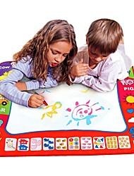 Недорогие -Water Drawing Play Mat Игрушка для рисования Живопись Простой Взаимодействие родителей и детей Детские Подарок 1pcs