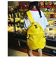 baratos -Mulheres Bolsas Poliéster mochila Ziper Azul / Vermelho / Amarelo