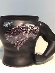 cheap -Drinkware Porcelain Mug Cartoon / Cute 1 pcs