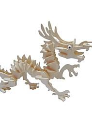 Недорогие -Деревянные пазлы / Пазлы и логические игры Пейзаж / Мода / Тиранозавр Рекс Для школы / Новый дизайн / профессиональный уровень деревянный