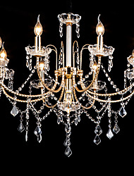 cheap -LWD 9-Light Crystal Chandelier Uplight - Crystal, New Design, Creative, 110-120V / 220-240V Bulb Not Included / 20-30㎡ / E12 / E14