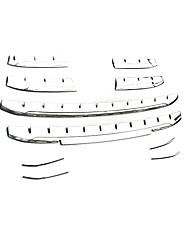 abordables -Voiture Décoration de grille avant de voiture Business Type de pâte For Grille avant de voiture For Audi Q3 2018 / 2017 / 2016