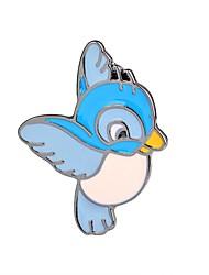 Недорогие -Броши Птица Животный принт Фламинго Дамы Винтаж Мультяшная тематика Мода Брошь Бижутерия Светло-синий Назначение Для вечеринок На выход