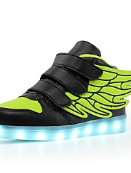 cheap -Boys' / Girls' Shoes TPU Fall Comfort / Light Up Shoes Sneakers LED for Blue / Pink / Black / Green