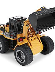 preiswerte -RC Auto 1520 6 Kanäle 2.4G Bulldozer 1:18 Bürster Elektromotor 60 km/h KM / H