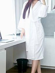 baratos -Qualidade superior Robe de Banho, Sólido 100% Poliéster 1 pcs