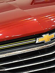 abordables -3pcs Voiture Décoration de grille avant de voiture Business Type de pâte For Partie supérieure de la calandre For Chevrolet Equinox 2018