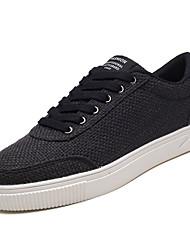 economico -Per uomo Scarpe Tessuto Autunno Comoda Sneakers Bianco / Nero / Beige