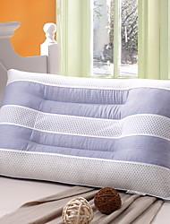 baratos -confortável-superior qualidade travesseiro de cama esticar confortável poliéster de algodão travesseiro