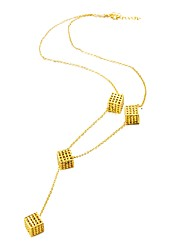 cheap -Women's Choker Necklace  -  Gold Plated Fashion Gold 10#7#1 cm Necklace For Birthday, Gift