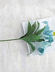 cheap -Artificial Flowers 1 Branch Rustic / Wedding Flowers Lilies / Eternal Flower Tabletop Flower