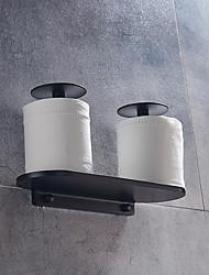 Недорогие -Держатель для туалетной бумаги Многофункциональный Современный Алюминий 1шт - Ванная комната На стену