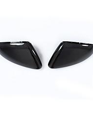 abordables -2pcs Voiture Couvre-rétroviseurs latéraux Business Type de boucle For Rétroviseur For Volkswagen Golf 7 Toutes les Années