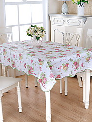 cheap -Contemporary Square Table Cloth Floral / Geometric Table Decorations 1 pcs