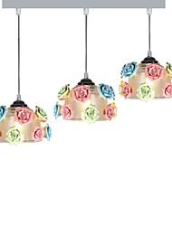cheap -3-Light Cluster Pendant Light Downlight - Creative, Adorable, 110-120V / 220-240V Bulb Not Included / 10-15㎡ / VDE / E26 / E27