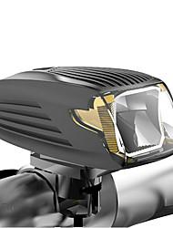 baratos -Luz Frontal para Bicicleta LED Ciclismo Portátil Impermeável Leve Libertação Rápida Tamanho da viagem Bateria Li-on Recarregável USB 400lm