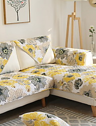 cheap -Sofa Cushion Floral Reactive Print Cotton / Polyester Slipcovers