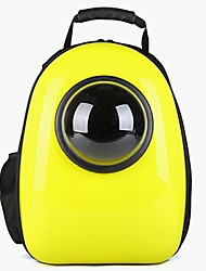 cheap -Dogs / Rabbits / Cats Carrier & Travel Backpack Pet Carrier Portable / Waterproof / Mini Solid Colored / Fashion Gold / Yellow