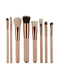 cheap -8pcs Makeup Brushes Professional Makeup Brush Set Nylon fiber Eco-friendly / Soft Wooden / Bamboo