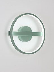 cheap -LED / Modern / Contemporary Flush Mount wall Lights Living Room / Indoor Metal Wall Light 110-120V / 220-240V 19W