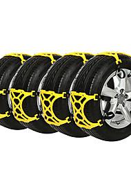 baratos -12pcs Carro Correntes de neve Negócio Tipo de fivela For Roda de carro For Universal Todos os Modelos Todos os Anos
