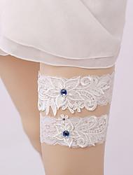baratos -Renda Estilo vintage Wedding Garter  -  Renda Ligas Casamento / Festas & Noite
