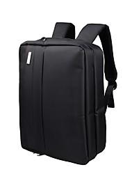 Недорогие -Муж. Мешки Нейлон рюкзак Несколько слоев / Молнии для Офис и карьера / Для профессионального использования Черный