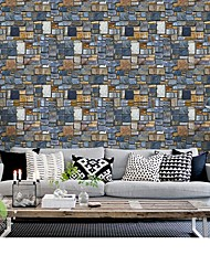 cheap -Wallpaper Vinylal / Others Wall Covering - Self adhesive 3D / Stone