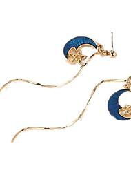 abordables -Femme Tanzanite synthétique Boucles d'oreille goutte - simple, Doux Bleu Pour Fête / Soirée Sortie