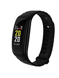 baratos -Relógio inteligente Tela de toque Monitor de Batimento Cardíaco Impermeável Pedômetros Distancia de Rastreamento Anti-lost Controle de