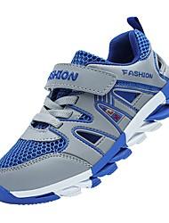 abordables -Garçon Chaussures Filet / Tulle Printemps été Confort Basket Scotch Magique pour Enfants Bleu de minuit / Gris foncé / Bleu royal