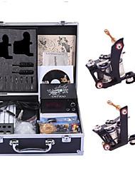 economico -Macchina del tatuaggio Kit tatuaggio professionale - 2 pcs Macchinette per Tatuaggio , Fatto a Mano / Comodo / Tensioneregolabile LCD