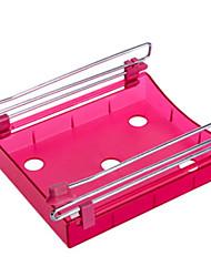 abordables -Organización de cocina Repisas y Soportes Plástico Almacenamiento / Fácil de Usar 1pc