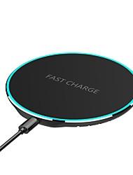 Недорогие -Беспроводное зарядное устройство Зарядное устройство USB USB с кабелем / КК 2.0 / QC 3.0 1 A DC 9V / DC 5V для iPhone X / iPhone 8 Pluss / iPhone 8