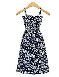 cheap -Women's Sophisticated / Boho A Line Dress - Geometric Print