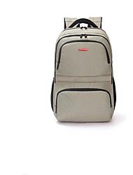 cheap -Unisex Bags Nylon School Bag Zipper Green / Silver / Coffee