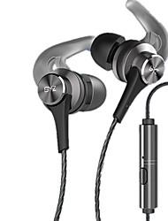 abordables -K68 Dans l'oreille Câblé Ecouteurs Dynamique Métal Sport & Fitness Écouteur Avec contrôle du volume / Avec Microphone Casque