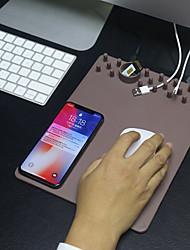 billiga Telefoner och Tabletter Laddare-Trådlös laddare USB-laddare USB Trådlös laddare 1 USB-port 2 A DC 5V