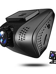 abordables -JUEFAN J3 1080p Vision nocturne DVR de voiture 140 Degrés Grand angle 2 pouce Dash Cam avec G-Sensor / Enregistrement en Boucle / 2.0