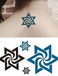Недорогие -10 pcs Временные тату Временные татуировки Тату с тотемом Искусство тела рука