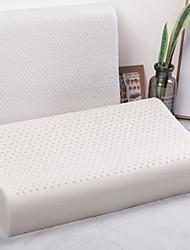 Недорогие -Комфортное качество Запоминающие форму подушки для шеи / Подушка с натуральным латексным наполнителем Стрейч подушка Пена с памятью 100%