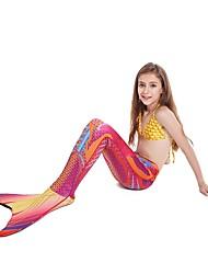 abordables -Chica Trajes de baño -- parte de abajo Sirena, Secado rápido, Cómodo Poliéster Bañadores Ropa de playa Prendas de abajo Natación / Deportes de Agua / Alta elasticidad