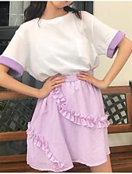 povoljno -Žene A kroj Aktivan Suknje - Prugasti uzorak