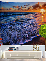 cheap -Holiday Wall Decor Polyester Classic Wall Art, Wall Tapestries Decoration