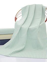Недорогие -Свежий стиль Полотенца для мытья, Горошек Высшее качество Полиэстер / хлопок Чистый хлопок Жаккардовое плетение 1pcs Банное полотенце